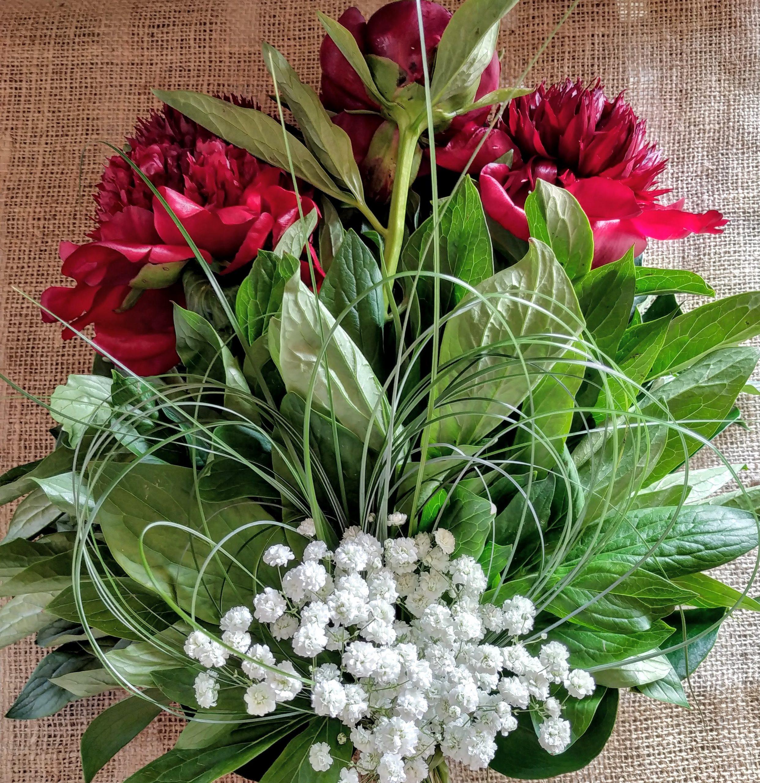 bouquet peonie rossoGio